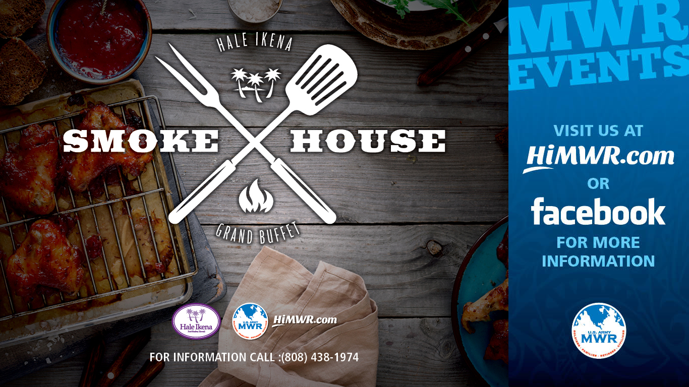 Smokehouse Lunch Buffet - Hale Ikena