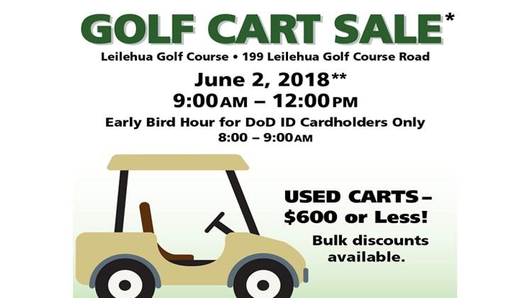 Golf Cart Sale