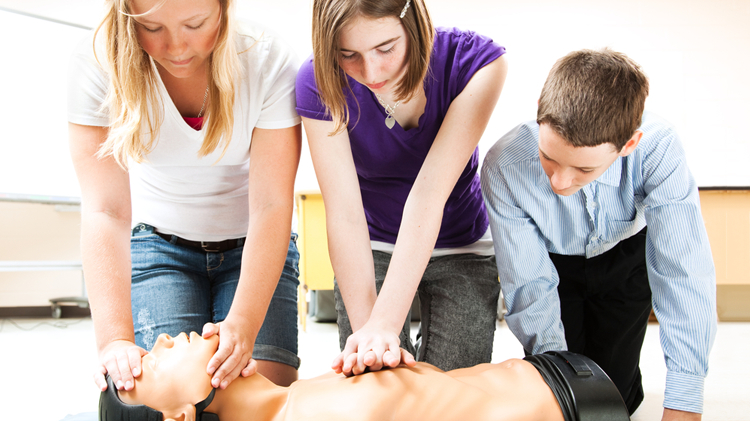 Hands Only CPR for Kids and Teens