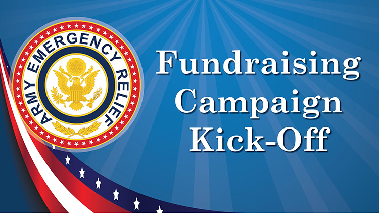 Army Emergency Relief Campaign Kick-Off