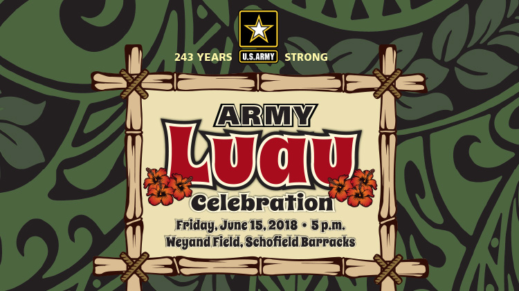 Army Luau Celebration