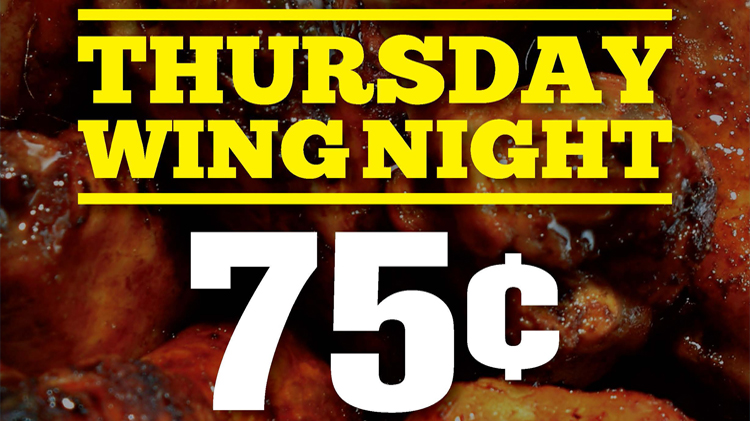 Thursday Wing Night - The Hangar