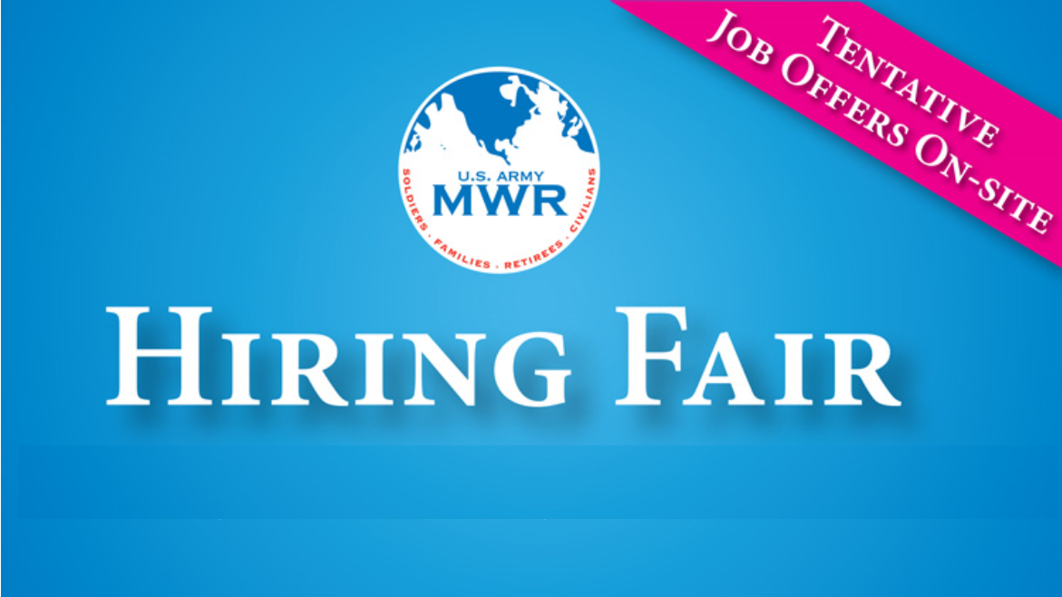 Family and MWR Hiring Fair