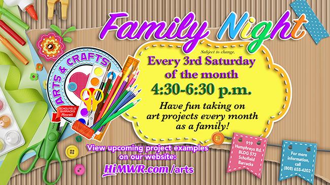 Family Night at Arts & Crafts