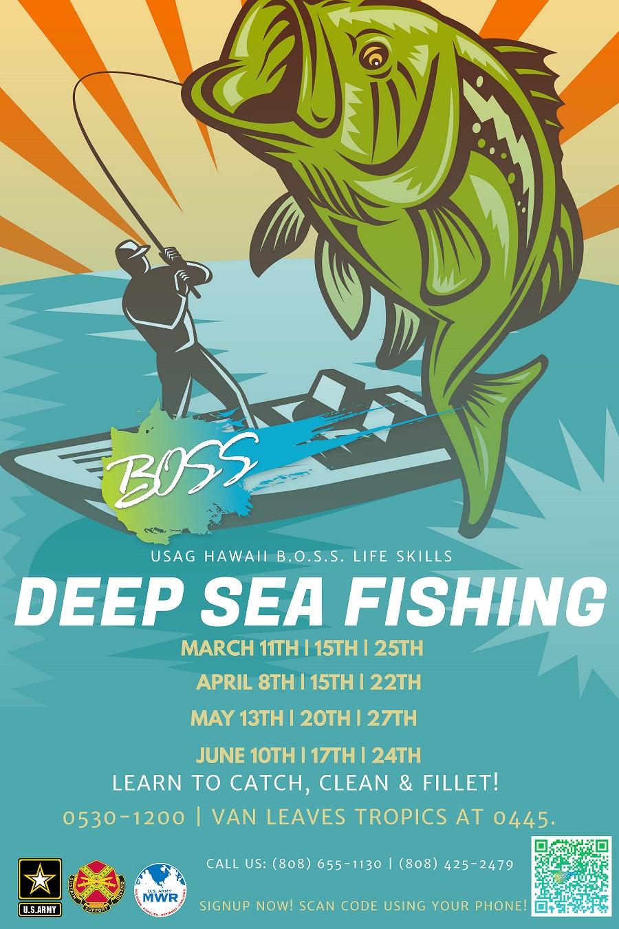BOSS Deep Sea Fishing