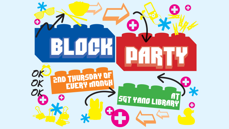 Block Party at SGT Yano Library