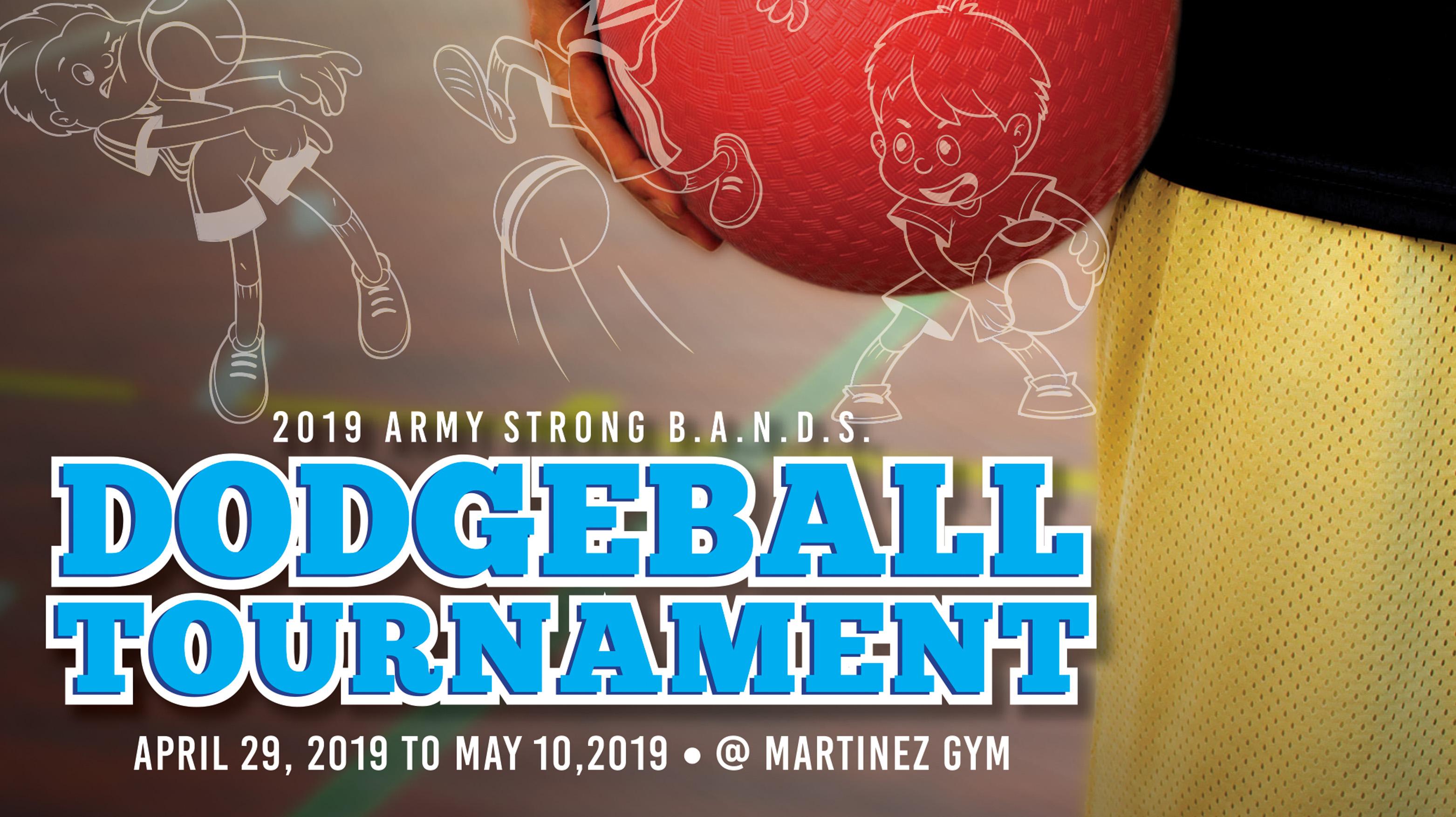 Strong B.A.N.D.S. Dodgeball Tournament