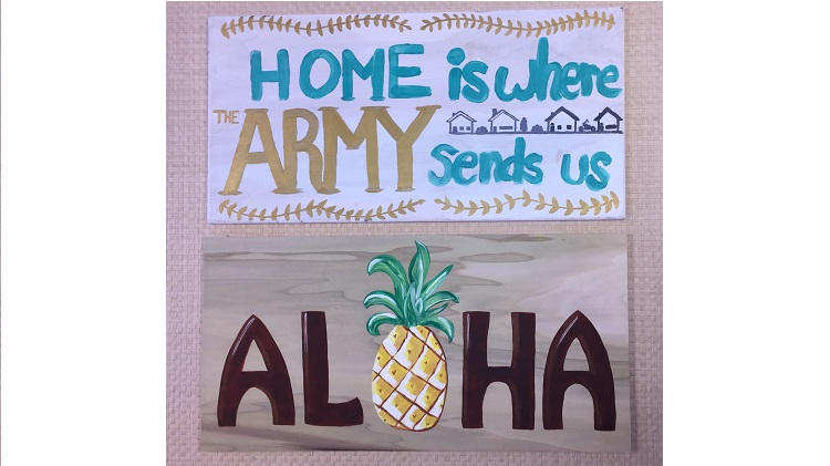 Family Night - Paint a Wooden Sign