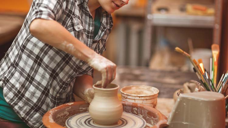 Ceramic Mold Pouring