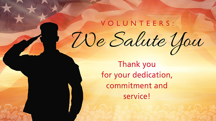 Annual USARHAW Volunteer Recognition Ceremony