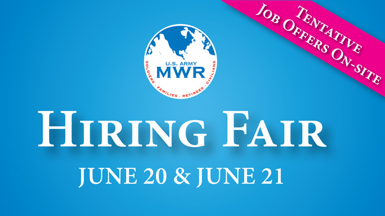 Family and MWR Hiring Fair