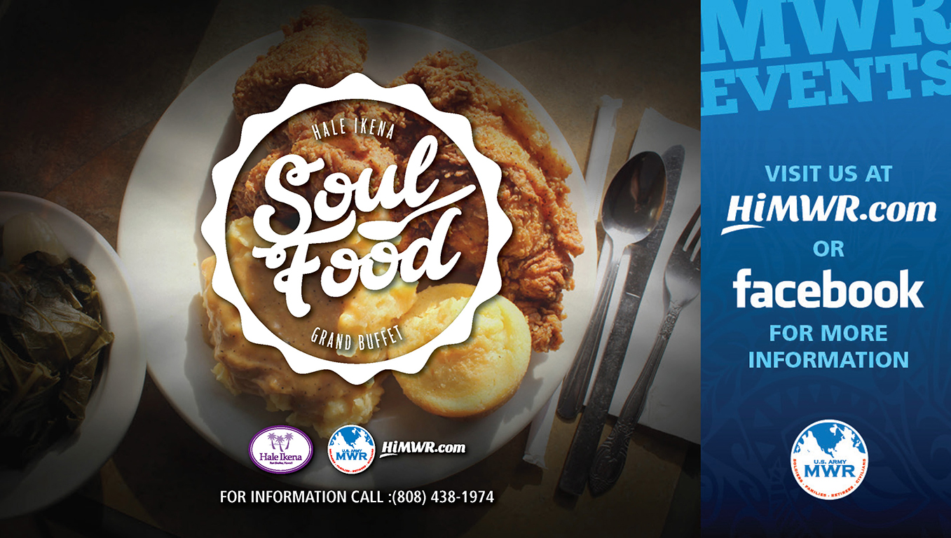 Soul Food Lunch Buffet - Hale Ikena