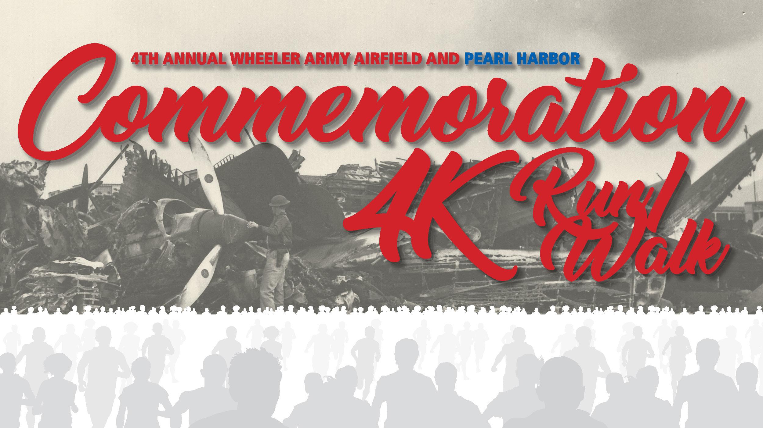 WAAF Pearl Harbor Commemoration 4K Run/Walk