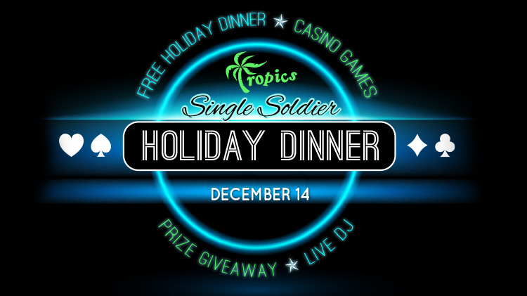 Single Soldier Holiday Dinner