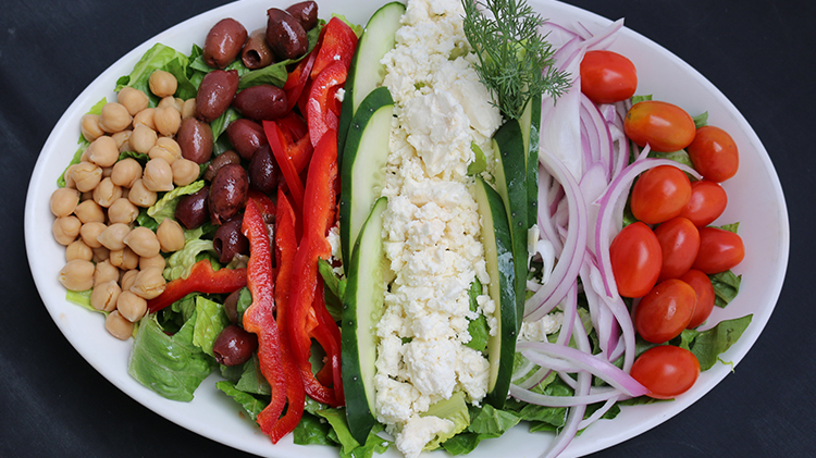 Build Your Own Mediterranean Salad
