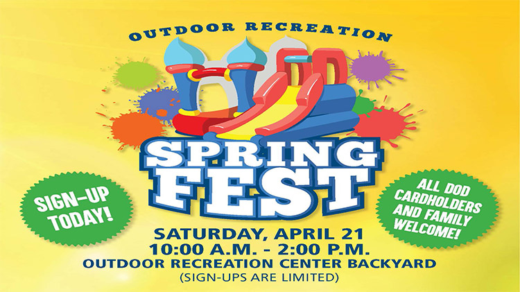 Spring Fest at Outdoor Recreation