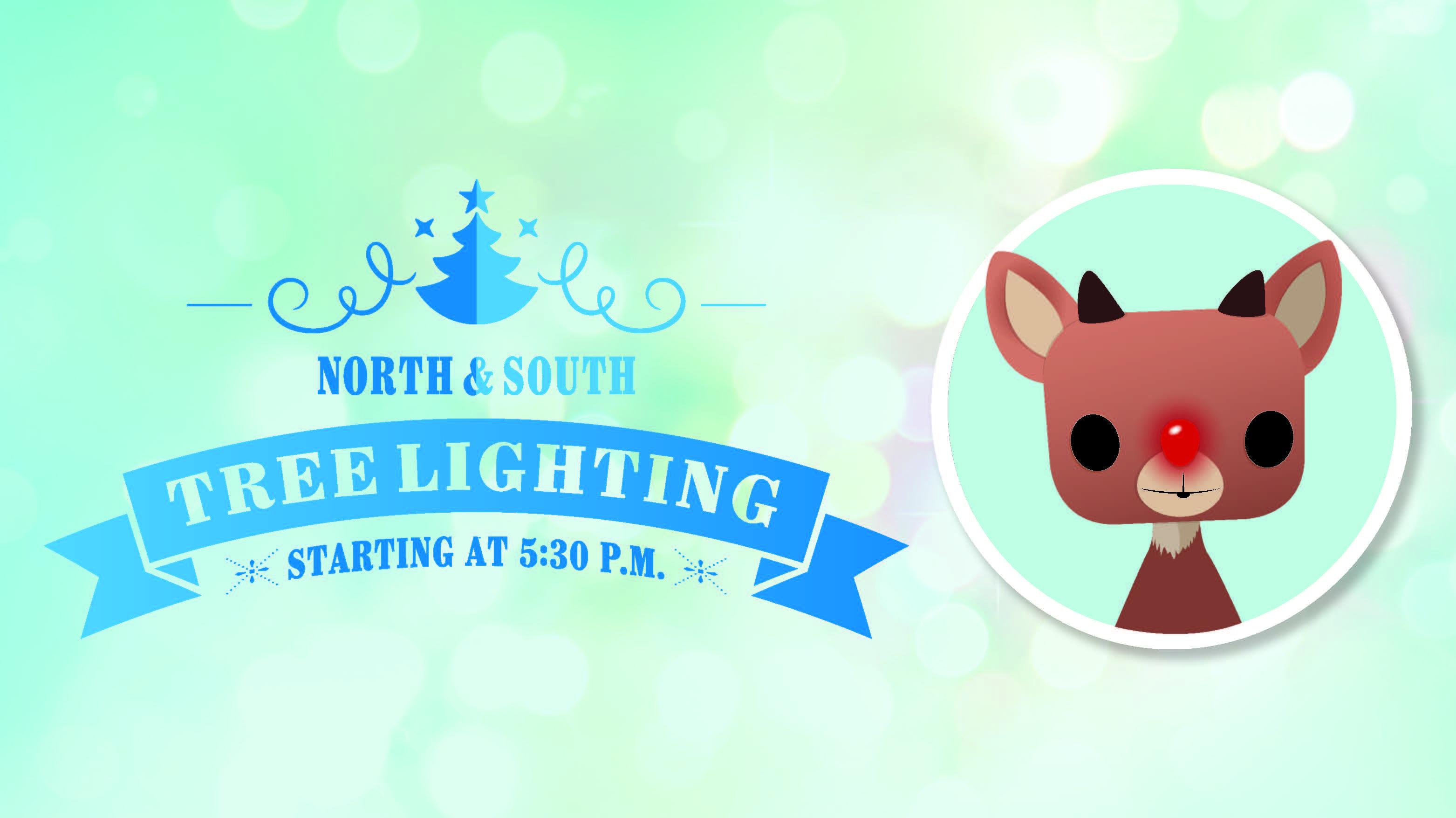North Tree Lighting