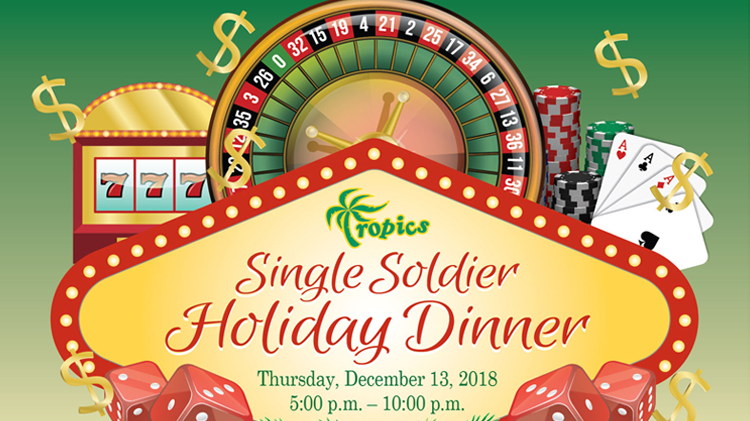 Single Soldiers Holiday Dinner