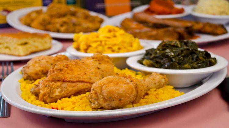 Soul Food Lunch Buffet