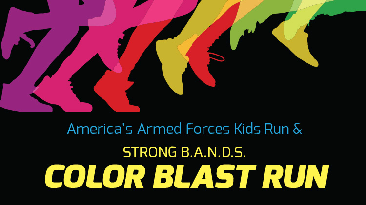 America's Armed Forces Kids Run & Color Blast RUN