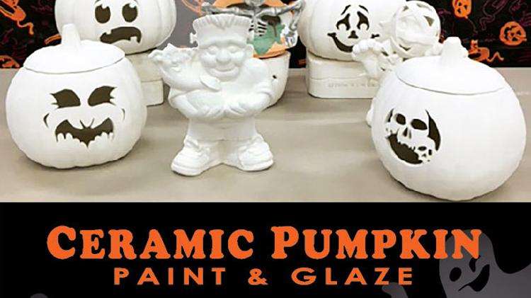 Ceramic Pumpkin Paint & Glaze