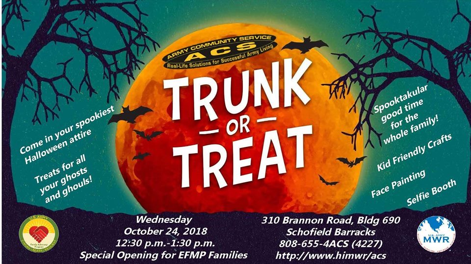ACS Trunk or Treat
