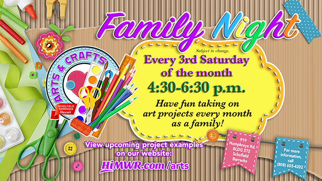 Family Night at Arts & Crafts
