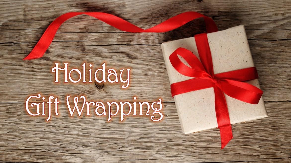 FRG Holiday Gift Wrapping