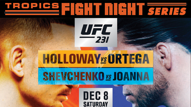 UFC 231 Fight Watch Party