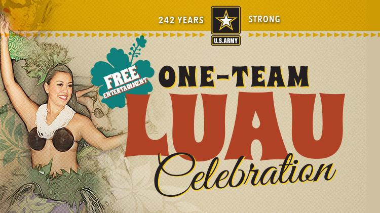 One -Team Luau Celebration