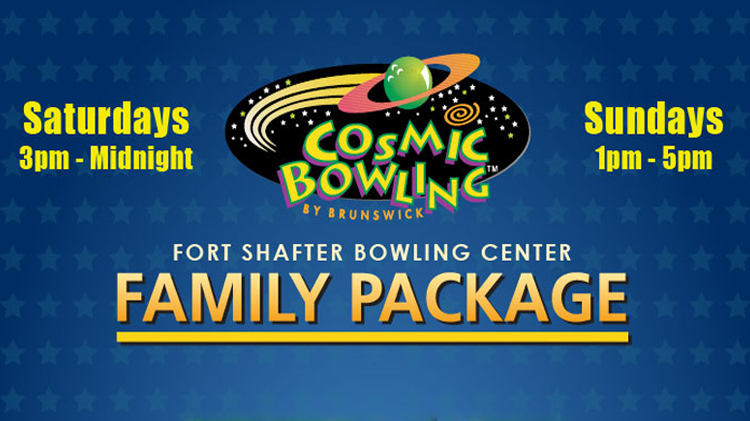 Cosmic Bowling Family Package