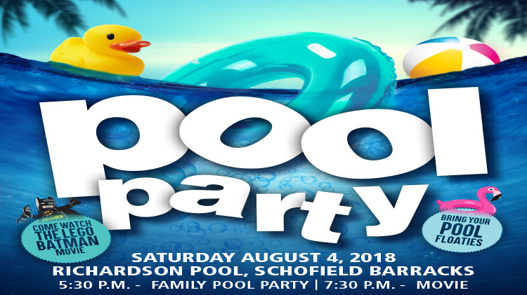 Pool Party and Dive in Movie