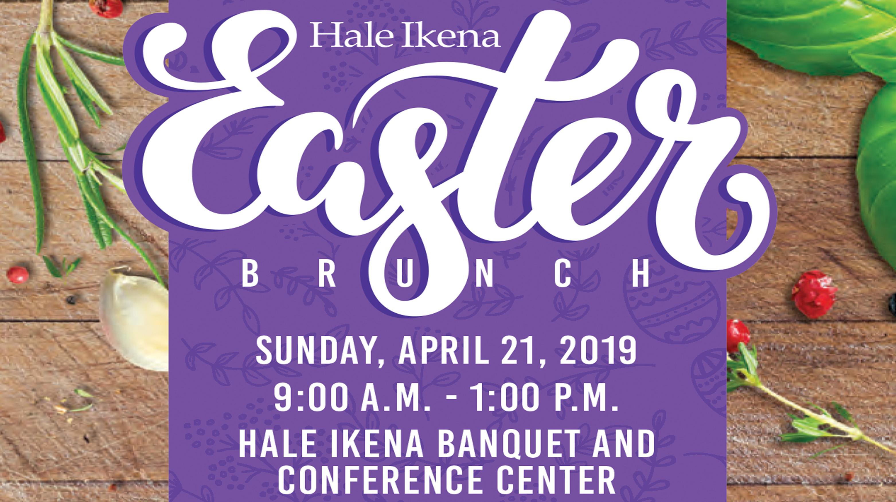 Easter Brunch - Hale Ikena